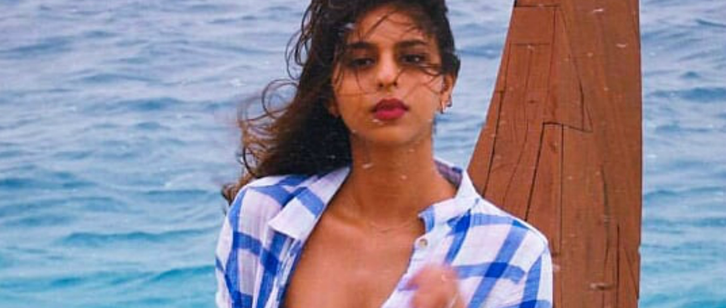 Suhana Is Making The *Mausam Haseen* In A Bandeau Top & Mini Shorts