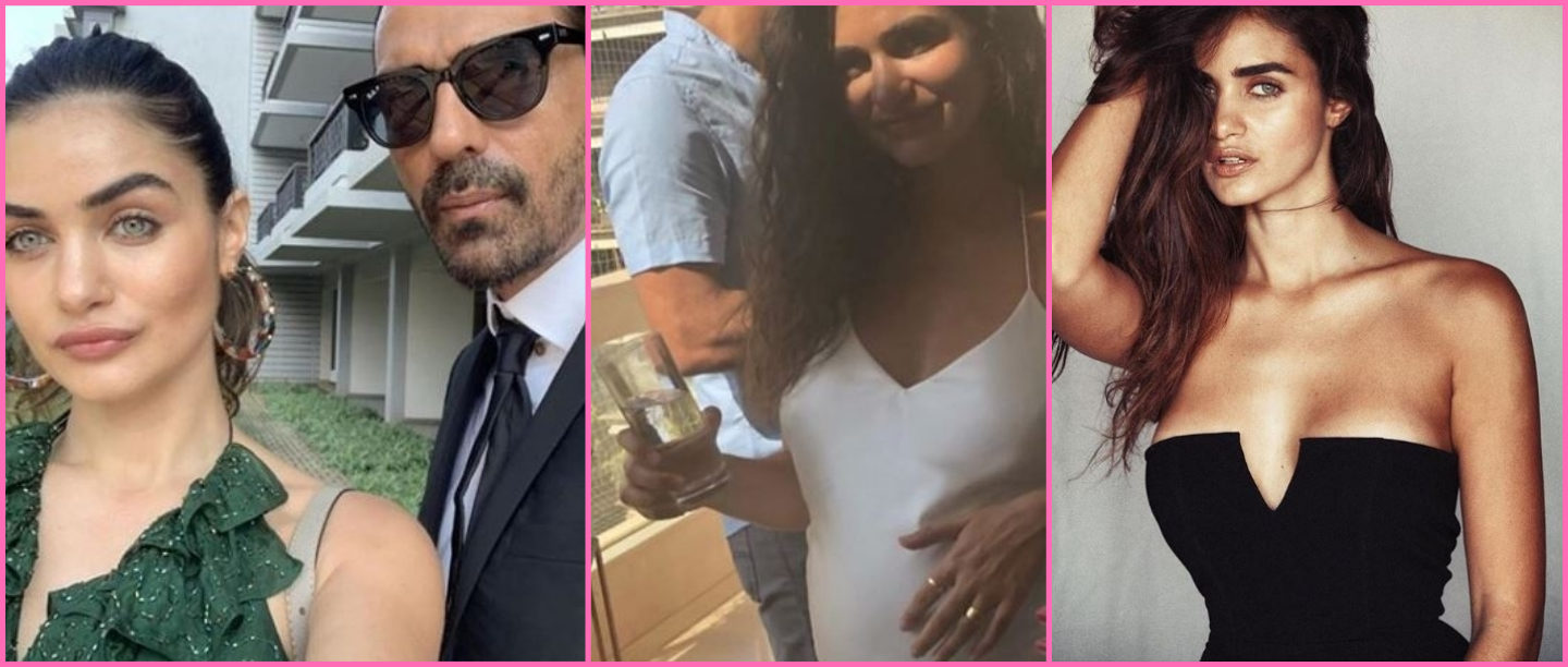 Arjun Rampal's Girlfriend Shares Post-Pregnancy Selfie 11 Days After Her Delivery
