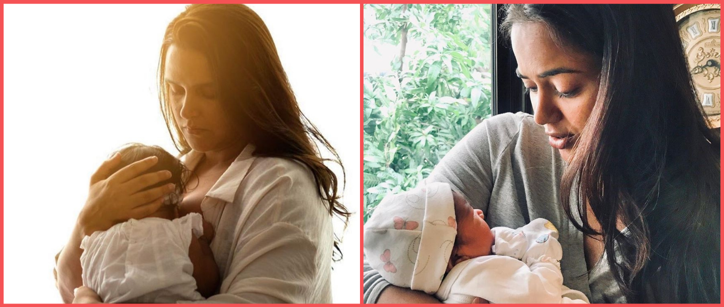 World Breastfeeding Week: New Moms Sameera Reddy & Neha Dhupia Share Empowering Messages