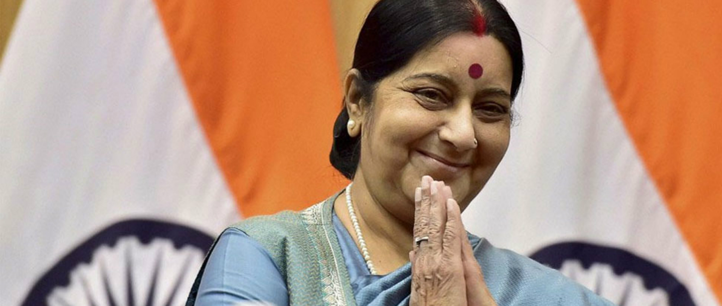Former CM Sushma Swaraj Passes Away At The Age Of 67 Due To A Cardiac Arrest