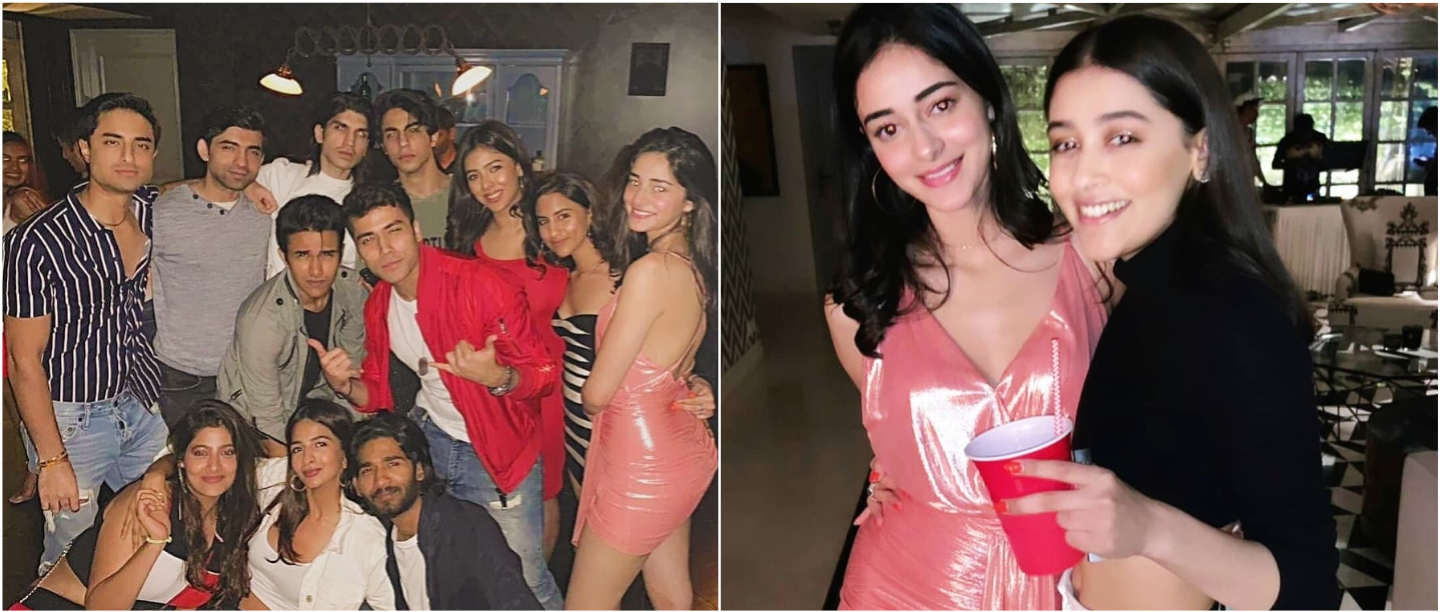 Ananya Panday Parties The Night Away With Her Squad And A Special Friend