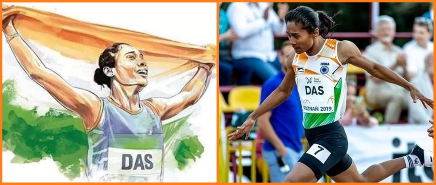 Hima Das Is On A Winning Streak As She Bags Her Sixth Gold Medal In The Czech Republic