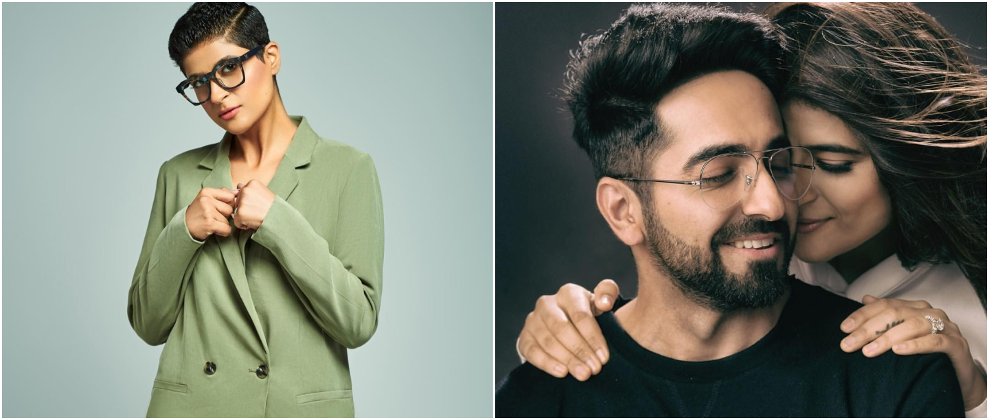 #AntiGravityHair: Ayushmann Finds Doppelganger For Tahira Kashyap's Early Morning Look