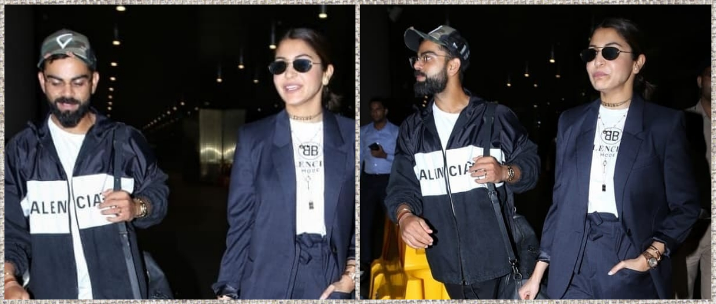 #TwinForTheWin: Virat-Anushka Fight Off Monday Blues With The Perfectly Coordinated Outfit
