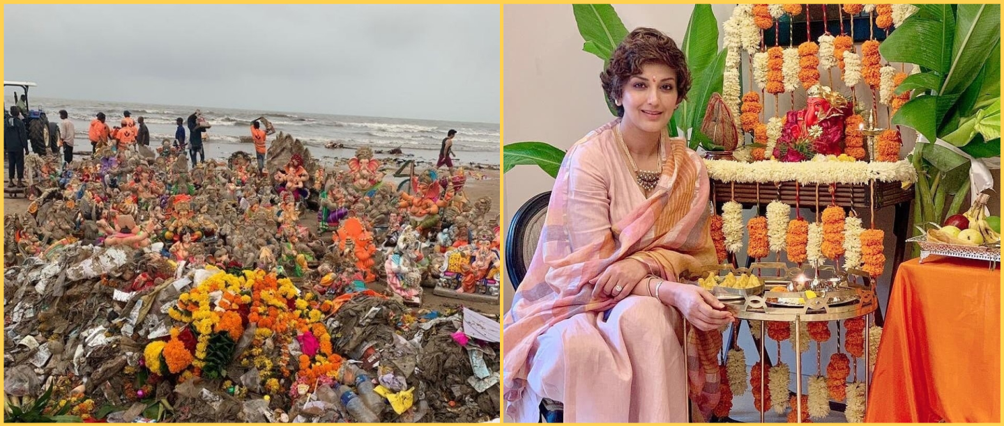 We Need To Do Better: Sonali Bendre Highlights What Juhu Beach Looks Like After Visarjan
