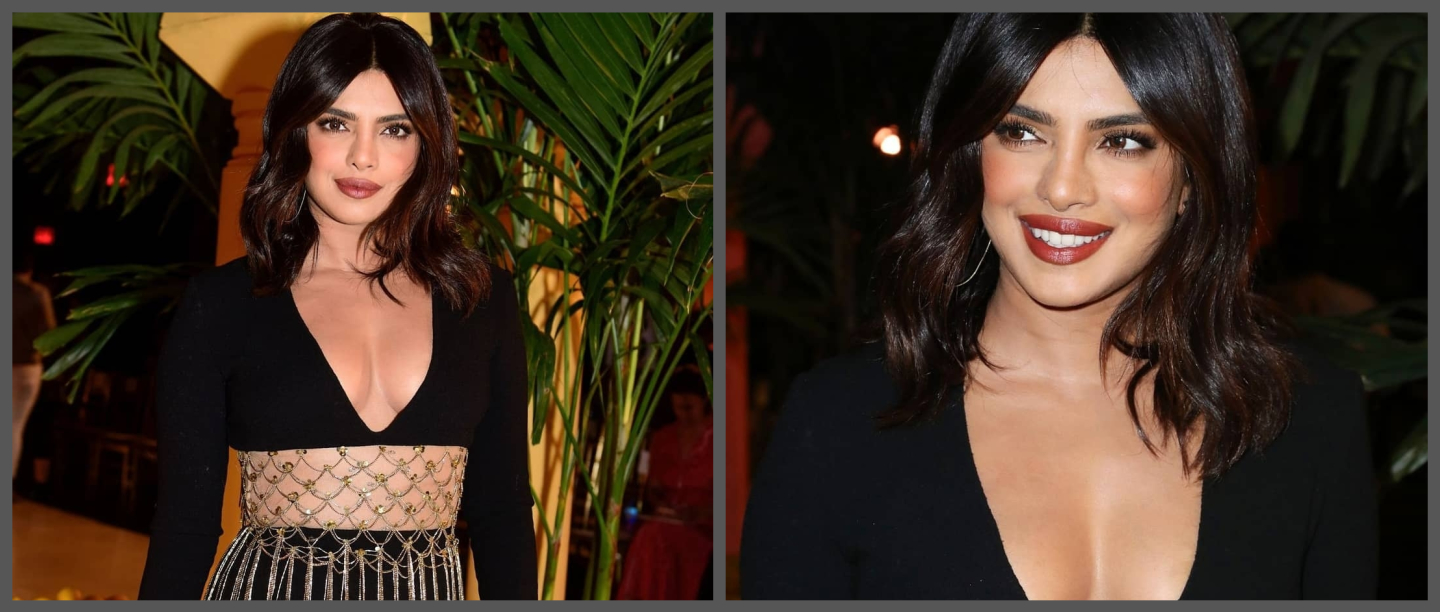 PeeCee's Black Bodycon Dress At New York Fashion Week Has Got Us Feeling Hot! Hot! Hot!