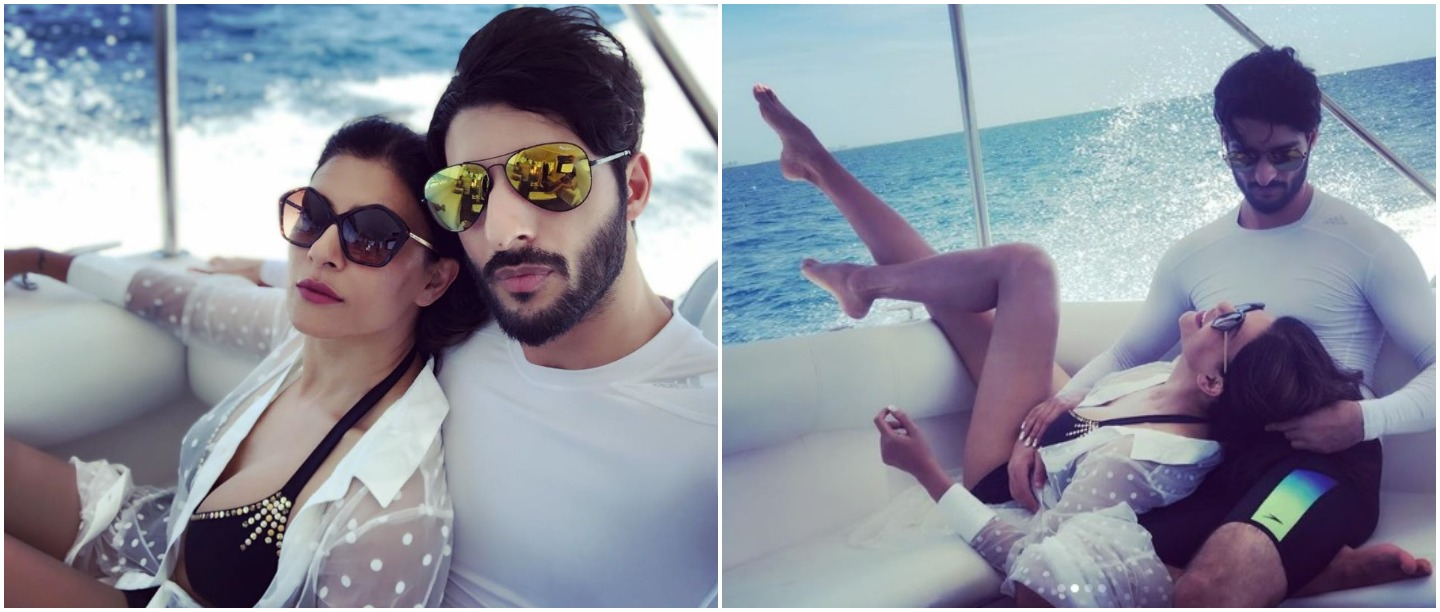 In Pictures: Sushmita Sen's Secret Beach Vacation With Her Bae Rohman Shawl