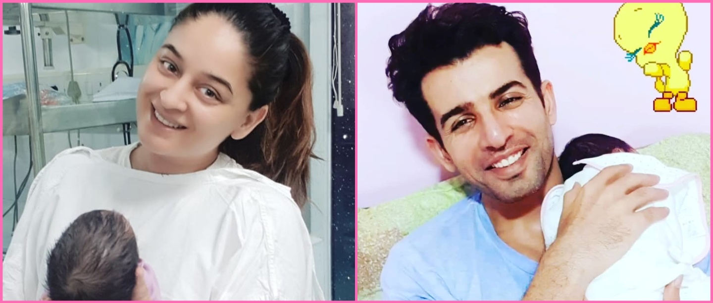 Jay Bhanushaali and Mahhi Vij Choose Their Daughter's Name From 20,000 Fan Suggestions