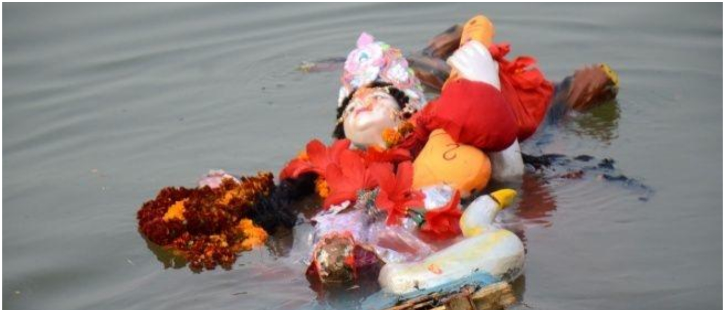 Government Takes A Much Needed Step, Bans Immersion Of Idols In River Ganga