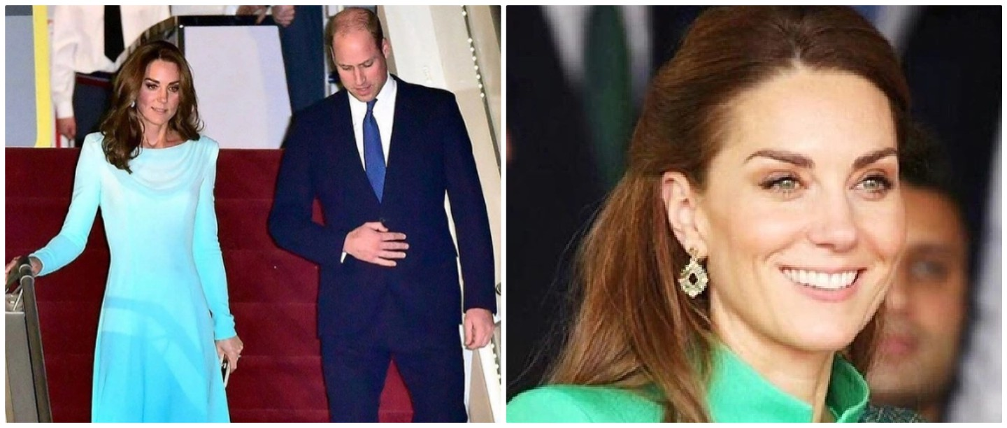 #CoordinatedForLife: Kate Middleton & Prince William Had A Twinning  Moment In Pakistan