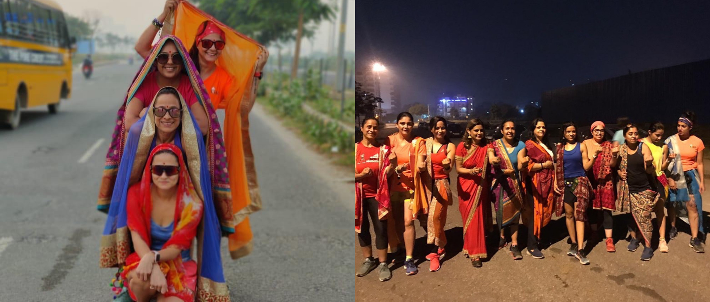 These Women Running A Marathon On Karva Chauth Morning Are #Goals