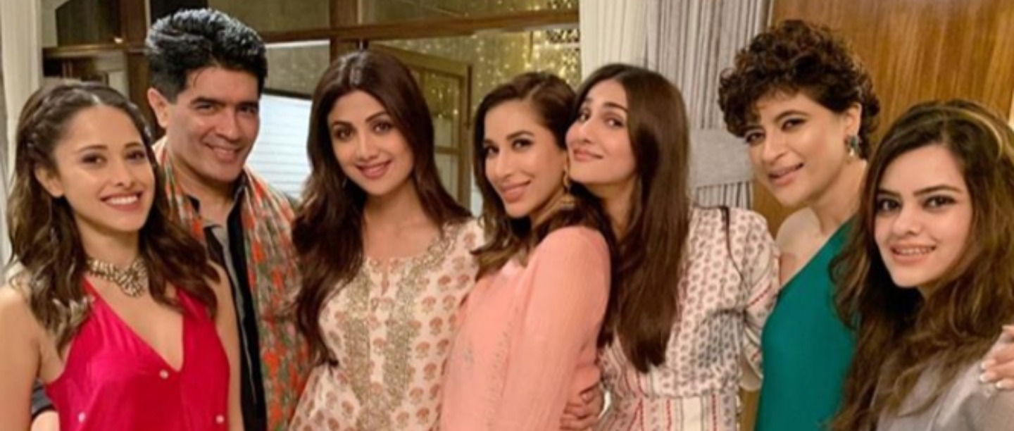 It's Diwali Season And B-Town Celebrated It Together At Manish Malhotra's House