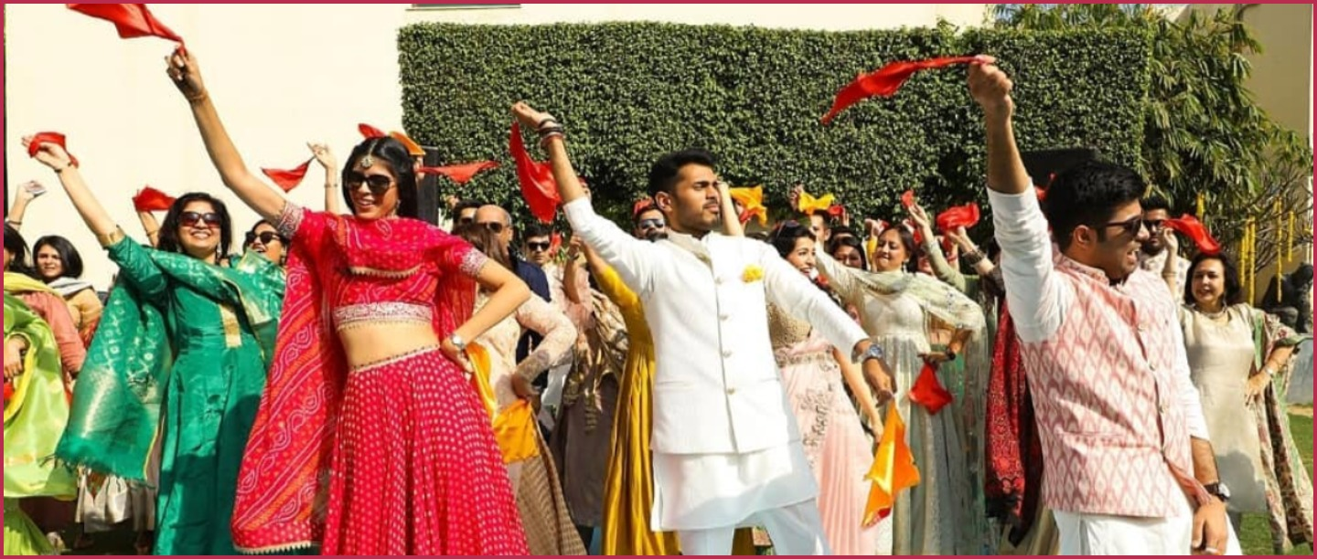 #SquadGoals: This Surprise Flash Mob For The Bride & Groom Is Making Us Go Balle Balle!