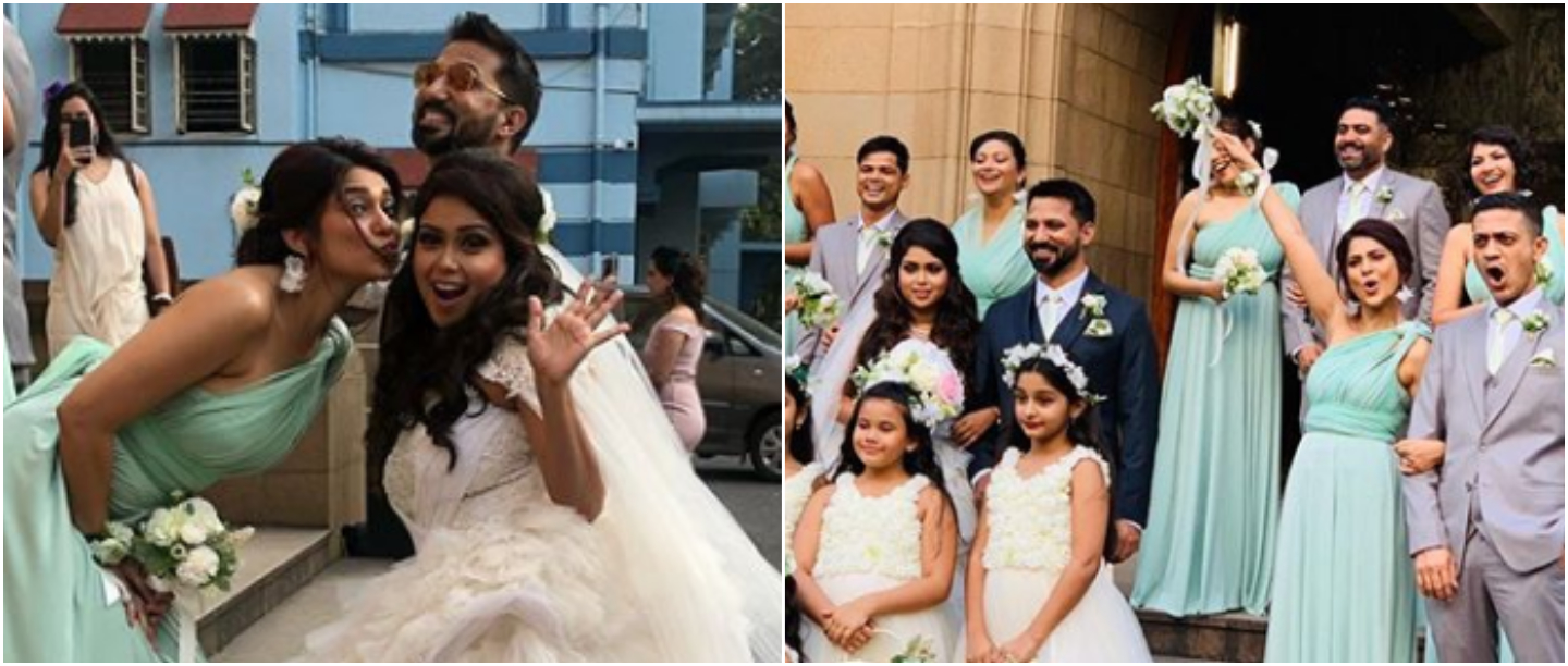 Jennifer Winget Plays Perfect Bridesmaid For BFF & Now We Can't Wait To See Her As A Bride
