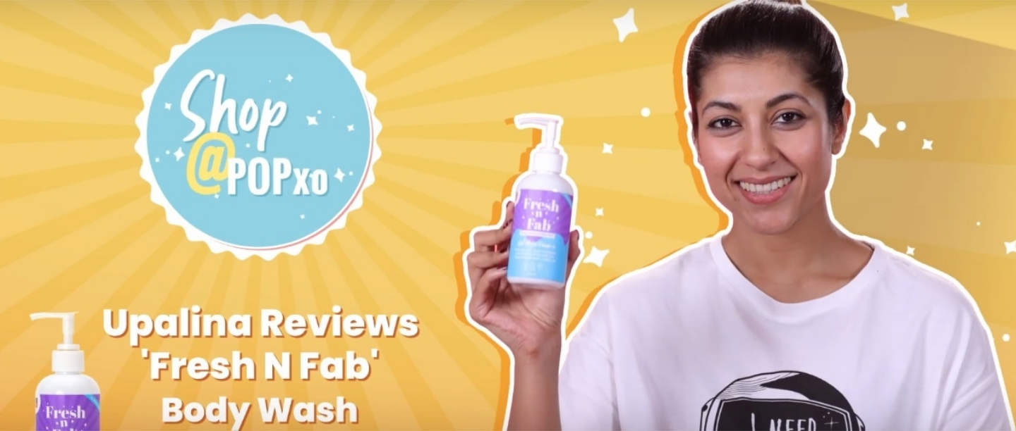 Squeaky Clean: Upalina Reviews Our Fresh n' Fab Honey & Vanilla Gel Body Wash