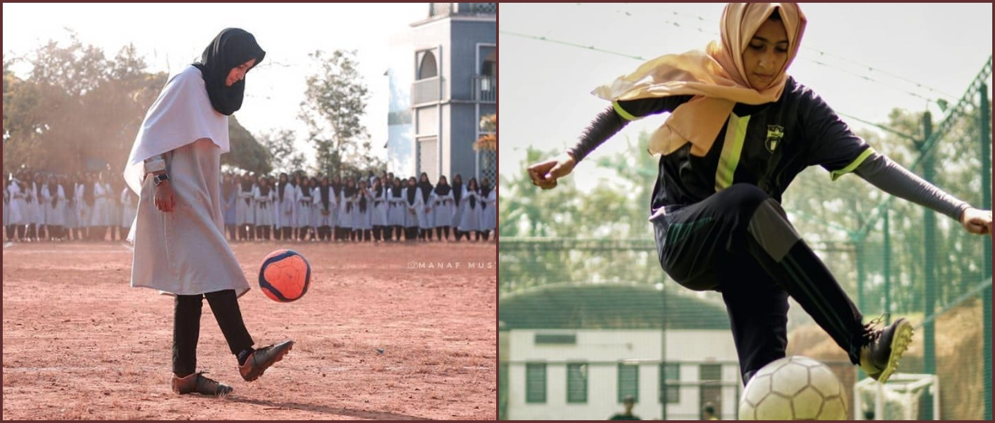 Dhan Dhana Dhan Goal: 17 YO From Kerala Is Owning The Football Field In Her Hijab