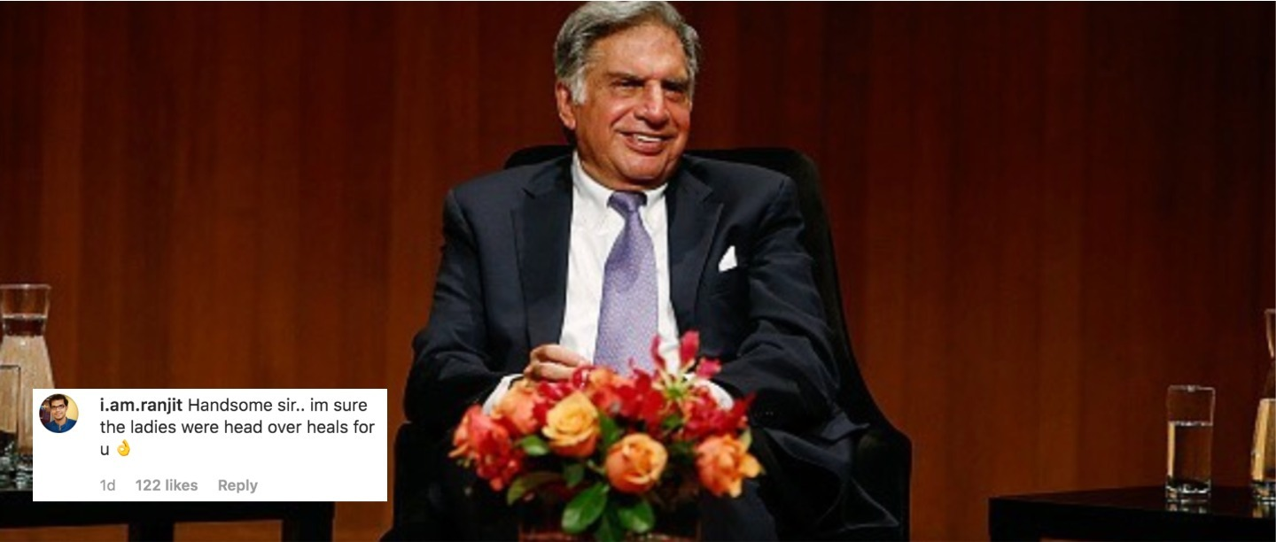 #FlashbackFriday: Ratan Tata Shares A Throwback Picture & We Wish We Were Born In The 70s
