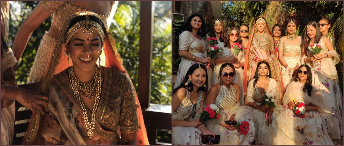 This Bride's Mother Surprised Her By Singing Her Entry Song & We're Not Crying, You Are!