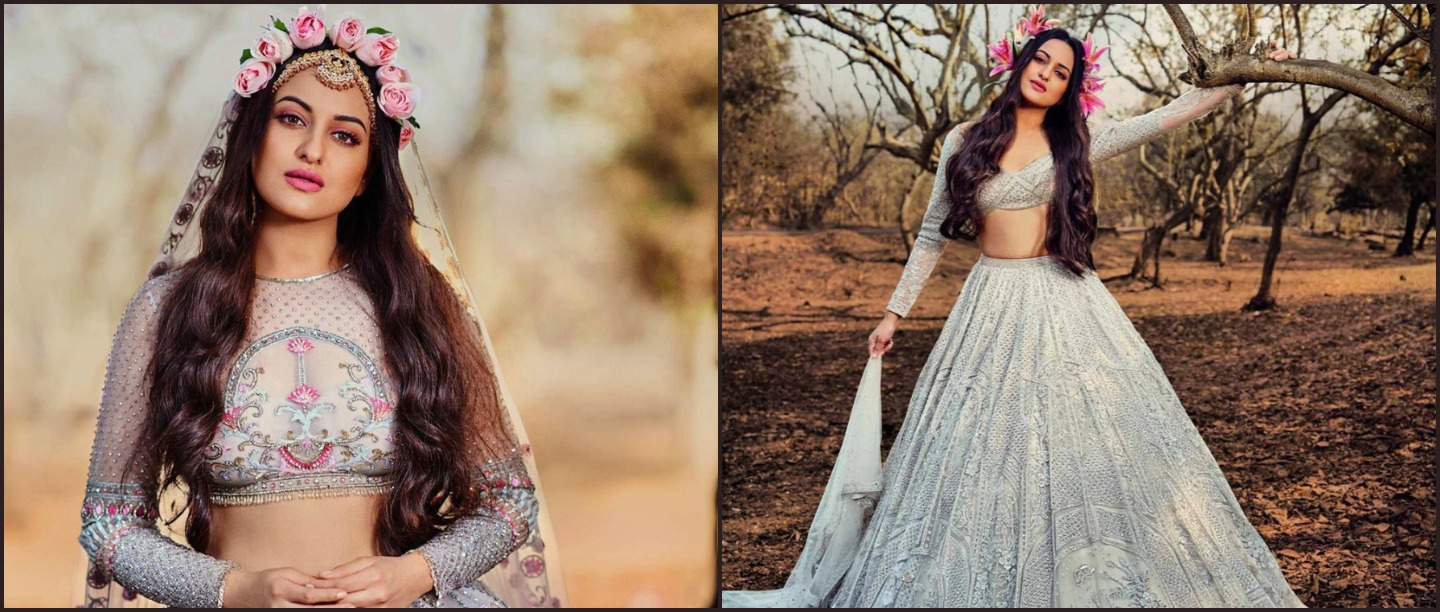Sonakshi Sinha's Crown Of Roses Is The Only Tiara Every Bride-To-Be Needs This Season!