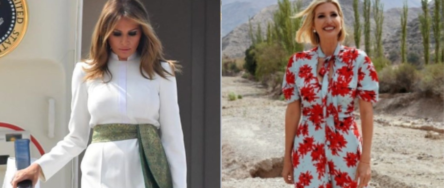 Melania & Ivanka Played The 'Style' Trump Card On Day 1 Of Their Trip To India & Wowed Us