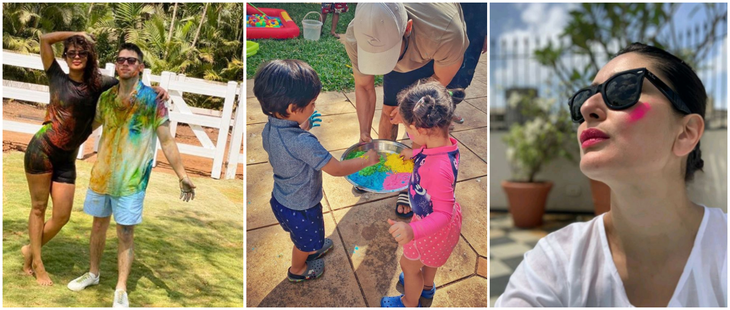 Rang Barse: Bollywood Had A Happy Holi & Here Are All The Pictures From Their Celebrations