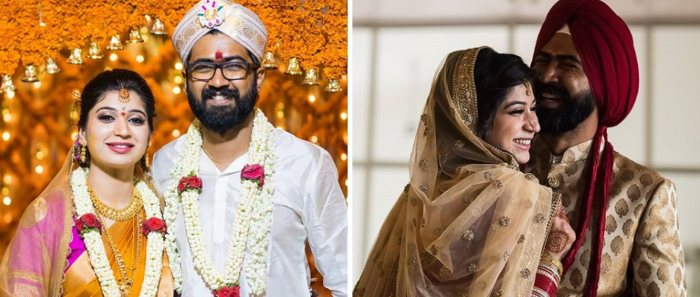 This North Meets South Wedding Story Will Make You Believe That Matches Are Made In Heaven