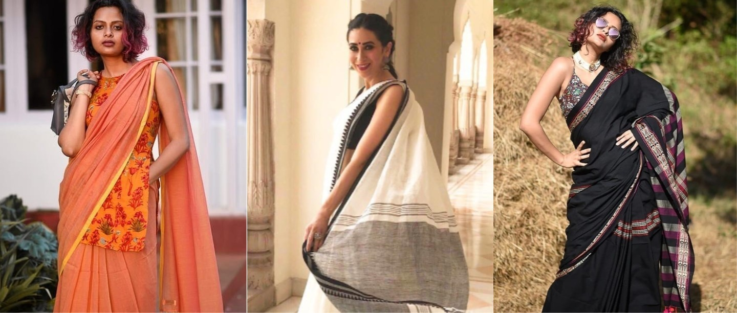 Do Yourself A Favour & Add Some Breezy Cotton Sarees To Your Work Wardrobe This Summer