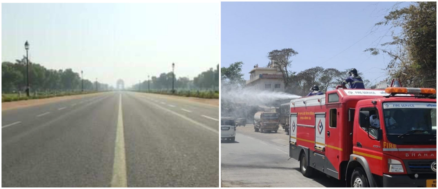 Covid-19: Streets Go Silent As India Observes 'Janata Curfew' To Contain Outbreak