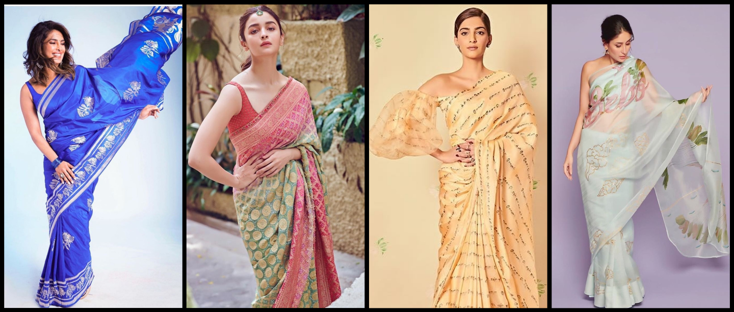 13 Gorgeous Sarees As Seen On Bollywood Celebs To Distract You During Quarantine