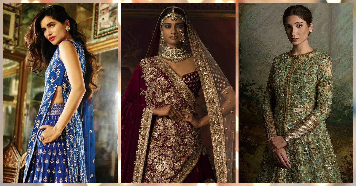 7 Amazing Lehenga Colours For Brides With Duskier Complexions!