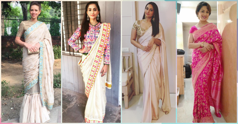 7 Saree Styling Tricks If You Don't Want To Show Your Tummy!
