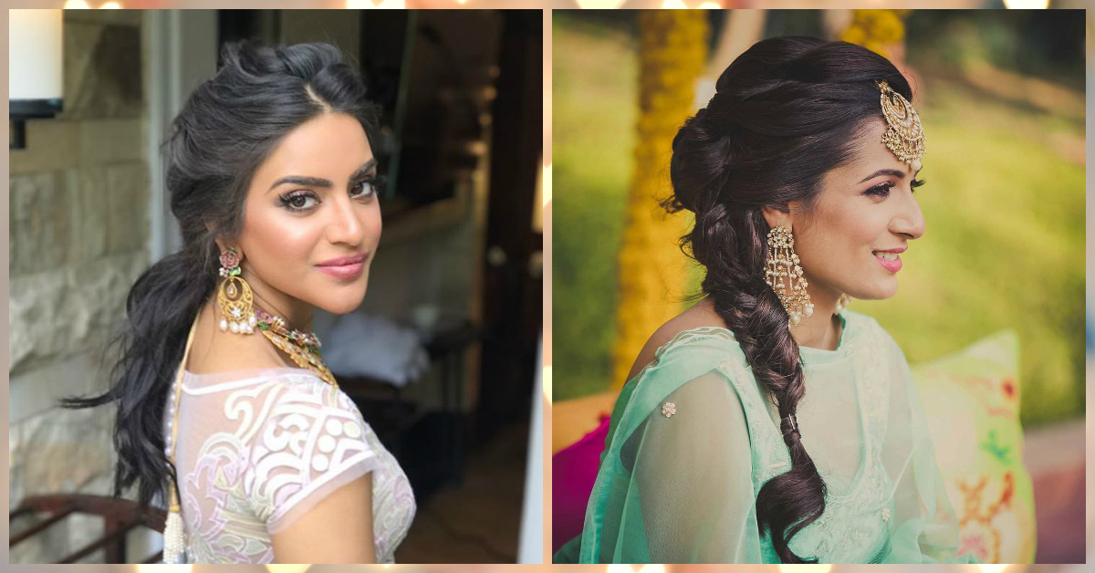 The Most GORGEOUS Hairstyle Ideas For Your Reception Night!