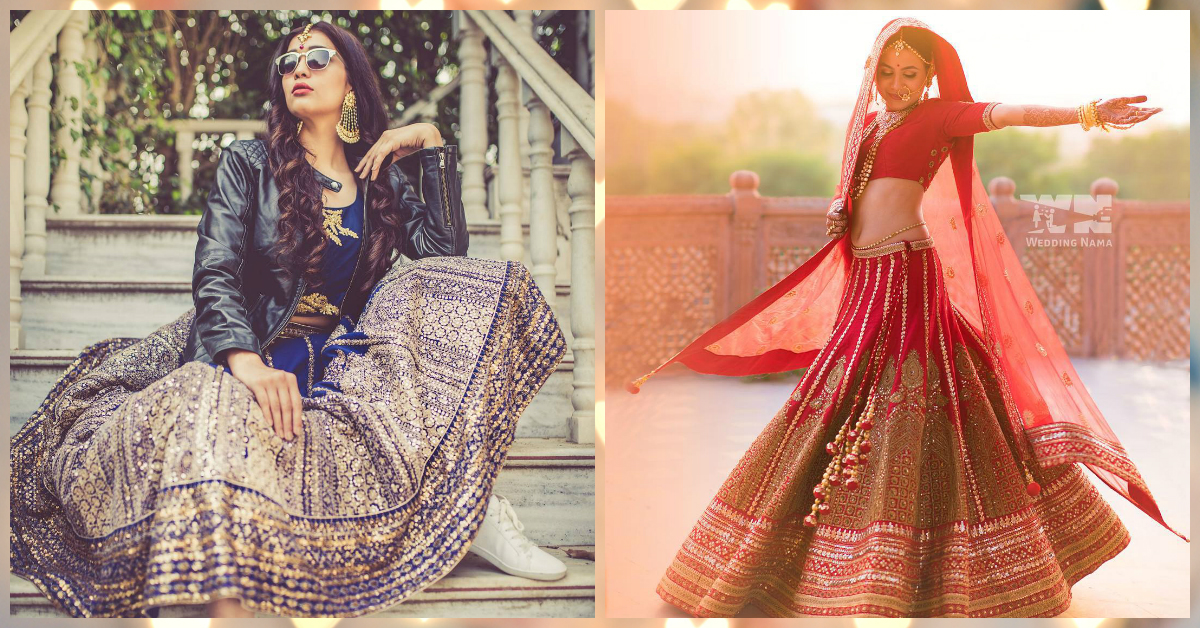 Striking wedding poses to showcase your bridal aura!