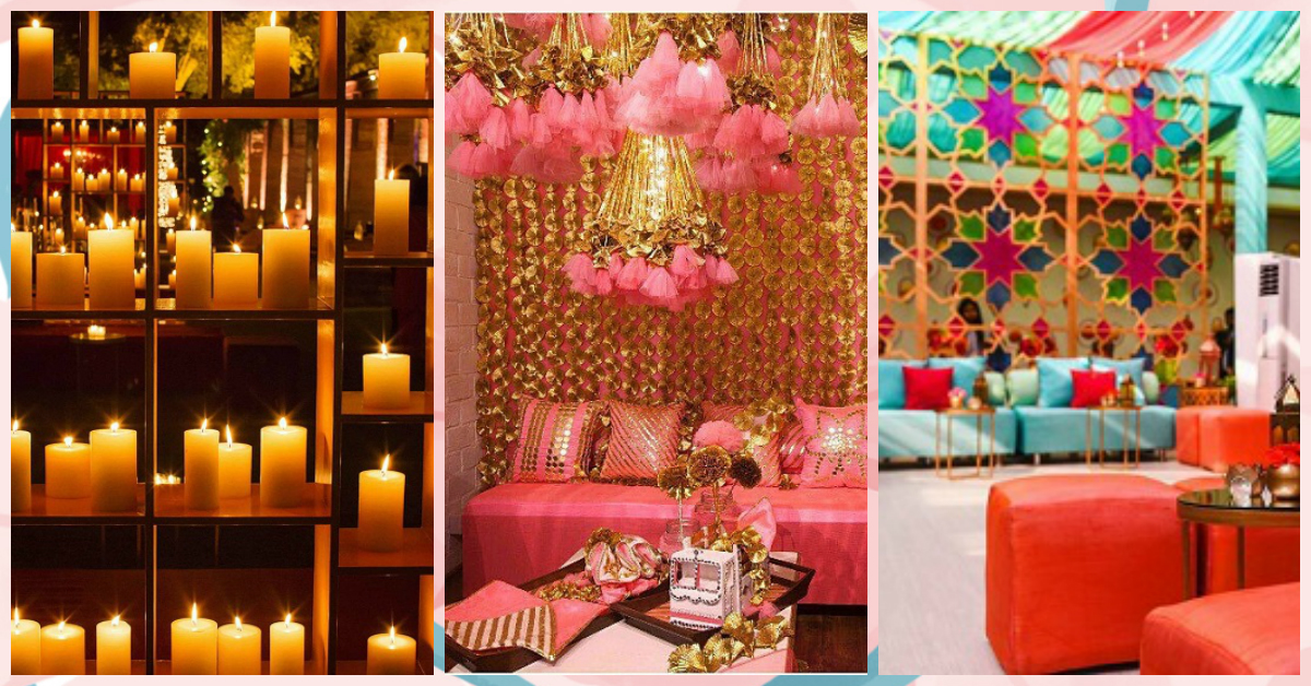 10 Fun Ways To Do Your Wedding Decoration Without Flowers