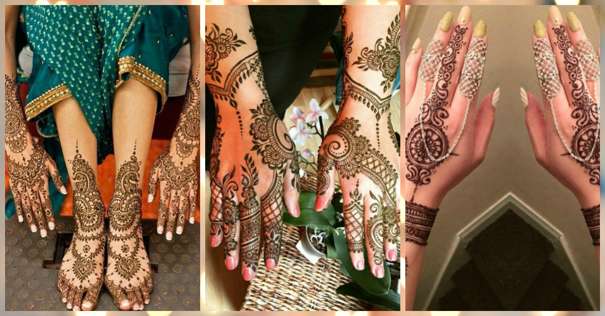 The Prettiest Mehendi Designs For The Bride (We're In Love!)