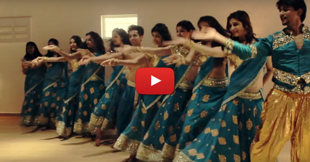 This Amazing *Indian* Choreography On 'Shape Of You' Is WOW!