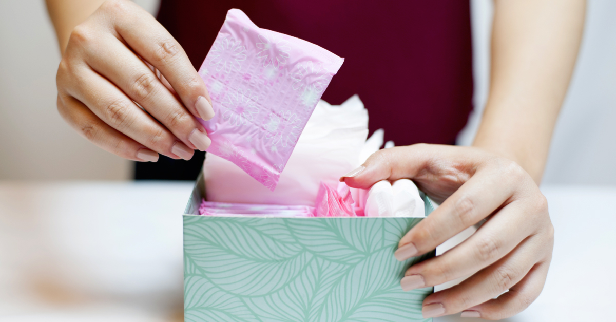 #PeriodProblems: Why Are Sanitary Pads STILL Being Taxed?