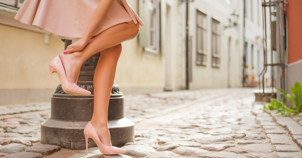 10 Things To NOT Do When You're Wearing Heels!