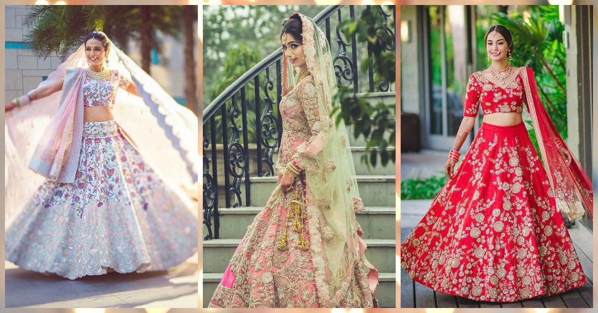 Just 25 Photos Of Bridal Lehengas That Are Way Too Gorgeous!