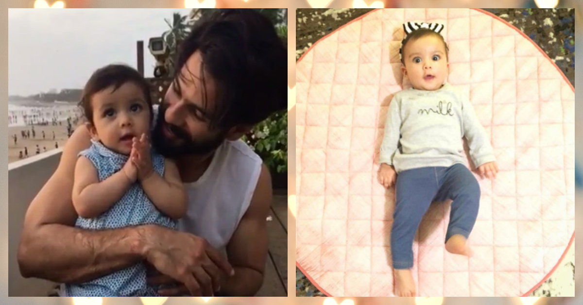 7 Pics Of Shahid & Mira's Baby That'll Make You Go 'Aww'!