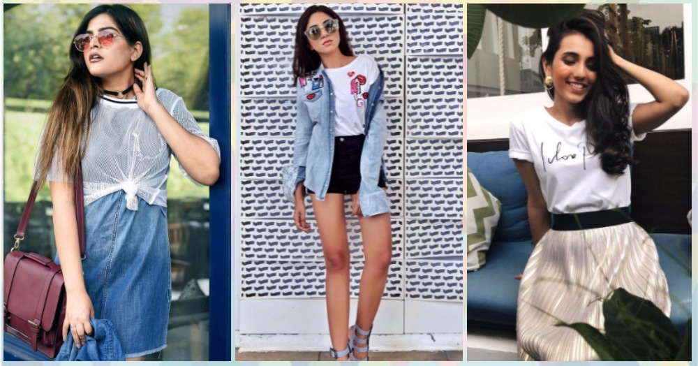 11 COOL Ways To Style The Same T-Shirt This Season!
