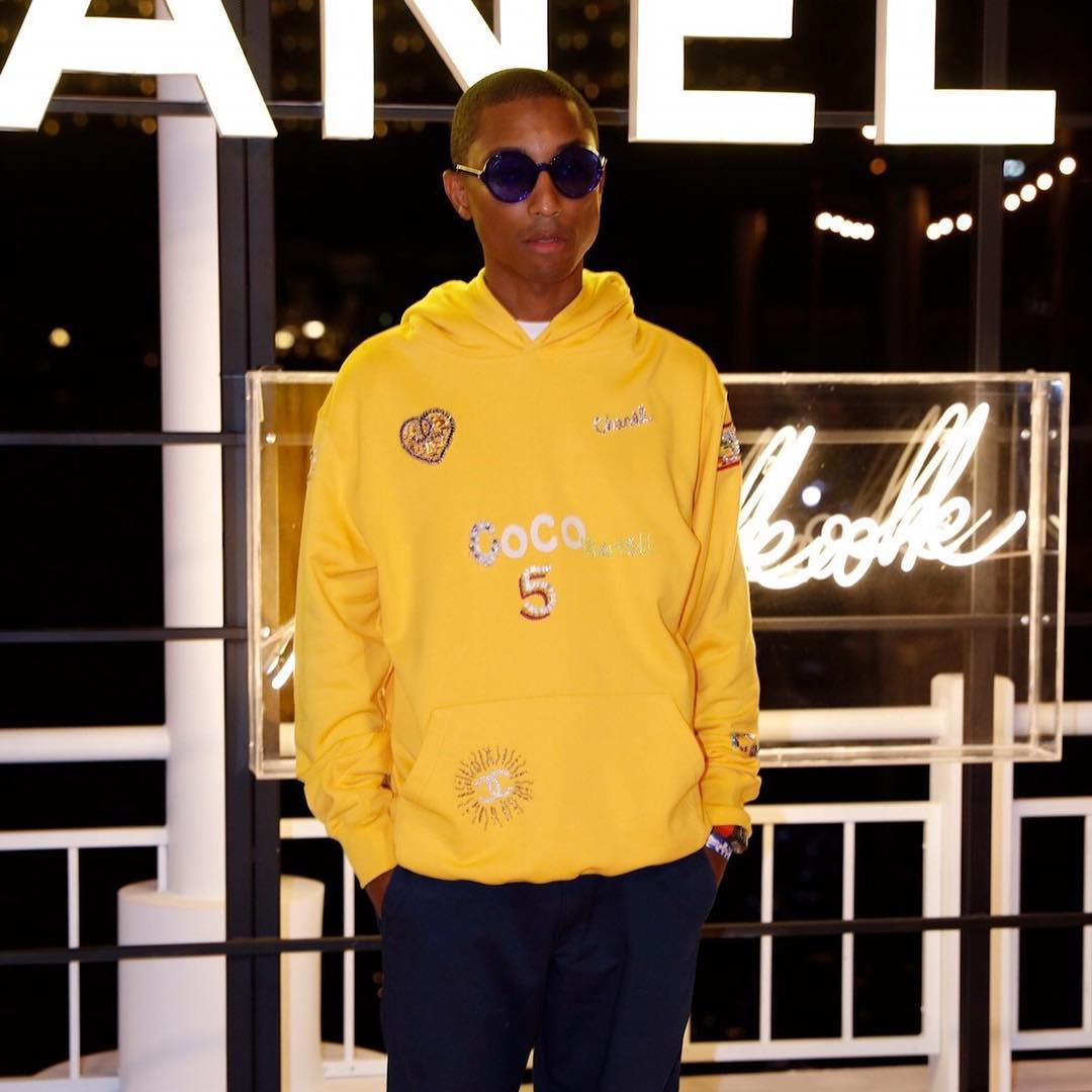 4a33912d4c2e3 The Chanel x Pharrell Capsule Collection Is Giving Us  Feels