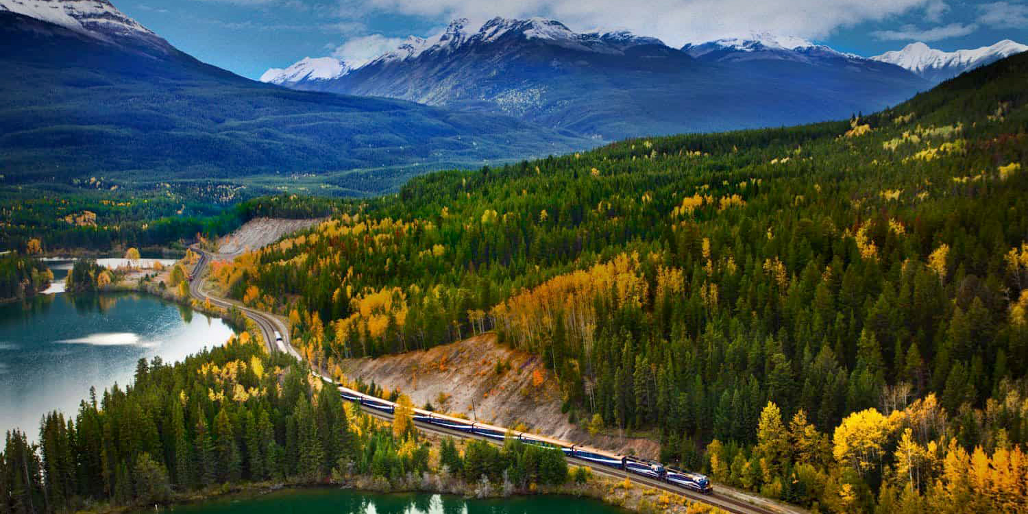 Soak In The Scenic Splendour Of The Canadian Rockies In This Glass-Domed Train