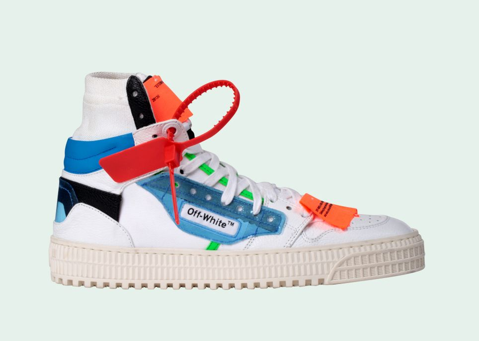 Off-White Off-Court Sneakers; Image Credits: Off-White