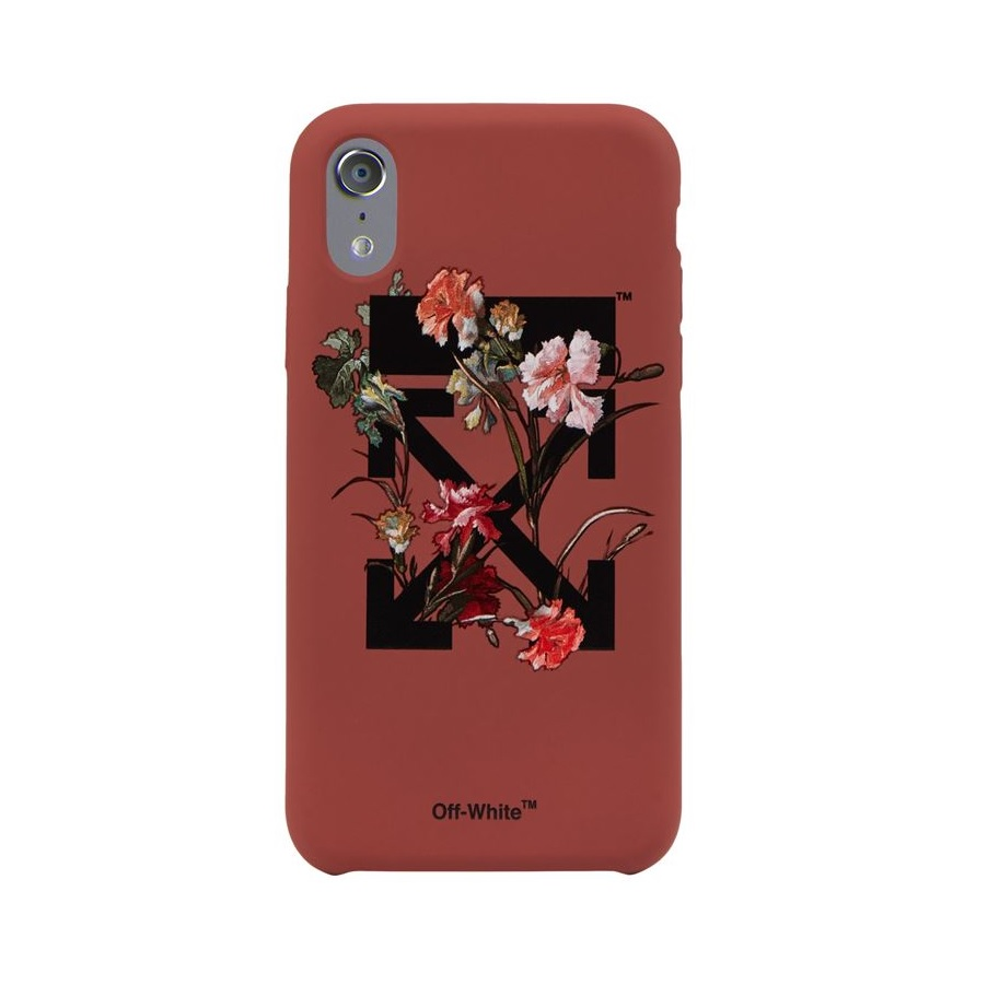 Arrows Floral Print iPhone X Case