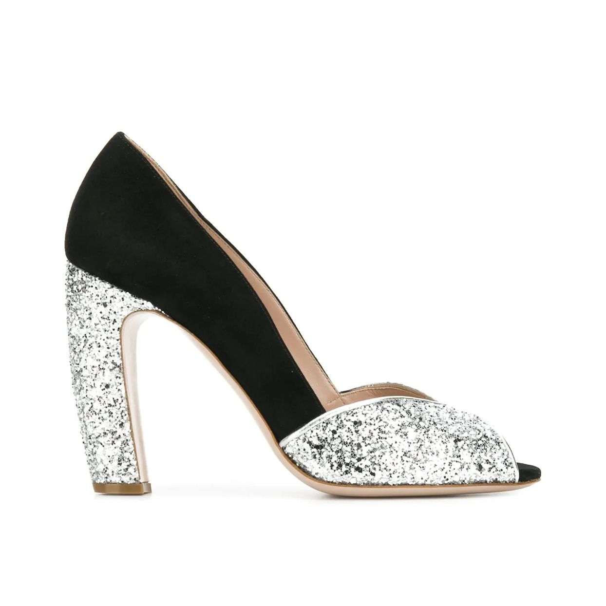 Glitter Embellished Pumps