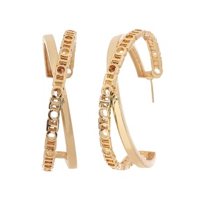 O.H Monogram Archway Hoops