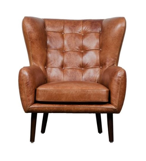 Dorchester Curved Back Wing Chair