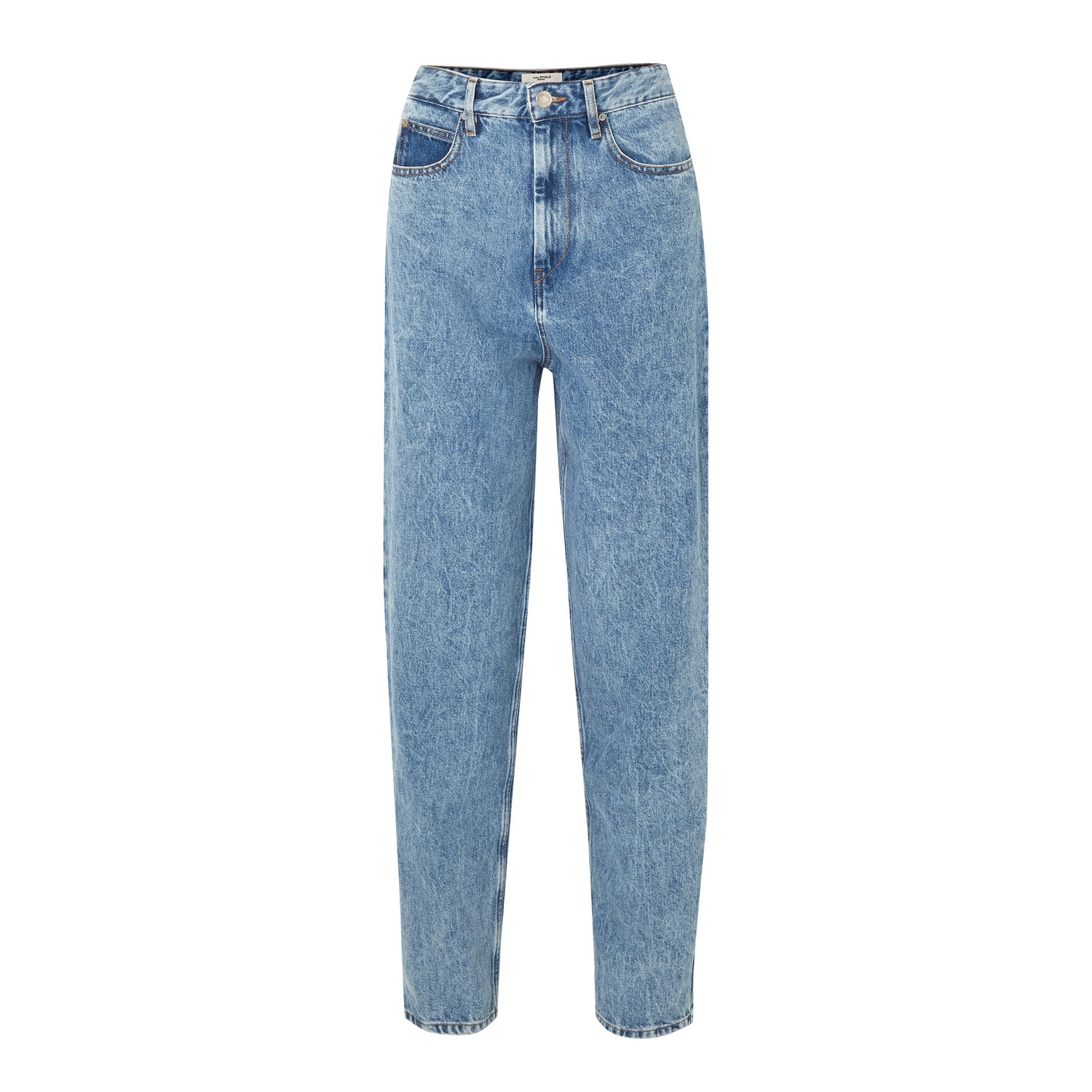 Corsyj High-Rise Tapered Jeans