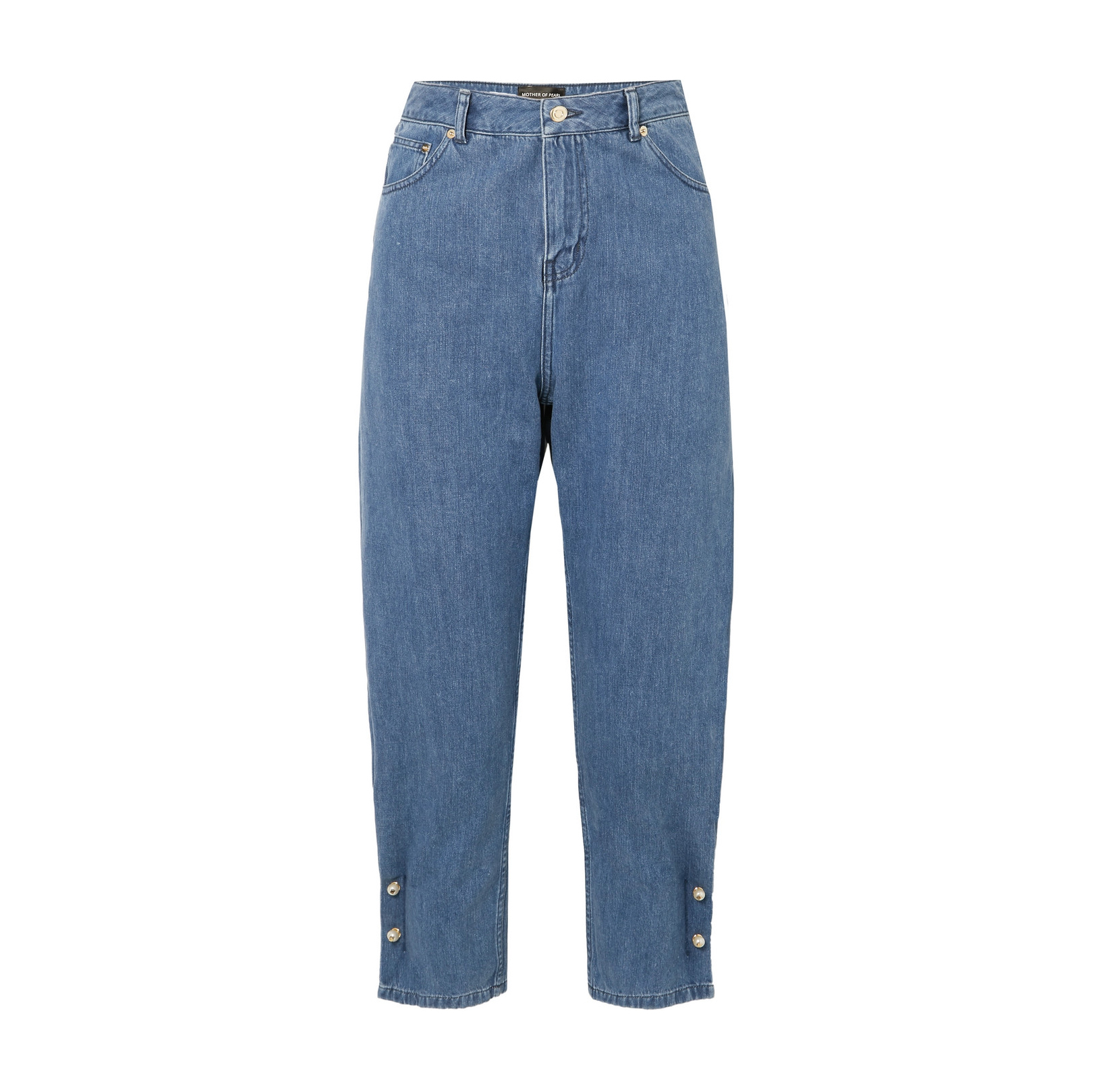 + NET SUSTAIN Kyra Faux High-Rise Tapered Jean